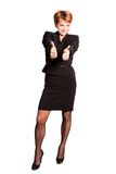 biznesowa pomyślna kobieta Obraz Stock