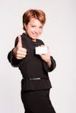 biznesowa pomyślna kobieta Zdjęcie Royalty Free