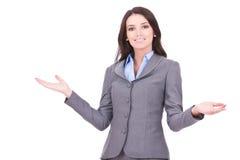 biznesowa powitalna kobieta Zdjęcie Royalty Free