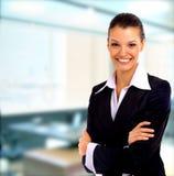 biznesowa pozytywna kobieta Fotografia Royalty Free