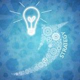 Biznesowa praca zespołowa i innowacja Zdjęcia Stock