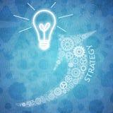 Biznesowa praca zespołowa i innowacja Obraz Royalty Free