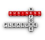 biznesowa przyjemność Obraz Stock