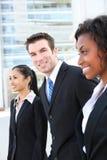 biznesowa różnorodna pomyślna drużyna Obraz Stock