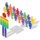 biznesowa różnorodność ilustracja wektor