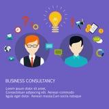 Biznesowa rada, trenowanie, trenuje na biznesie Obrazy Royalty Free