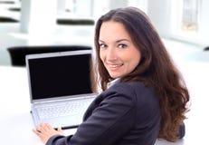 biznesowa rozważna kobieta zdjęcie stock