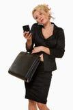 biznesowa ruchliwie kobieta obraz royalty free