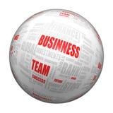 Biznesowa sfera Fotografia Royalty Free