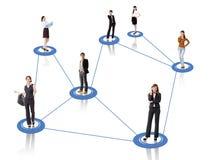 Biznesowa sieć Zdjęcie Royalty Free