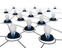 biznesowa sieć Zdjęcia Stock