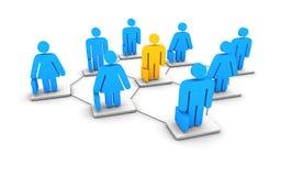 biznesowa sieć Obrazy Stock
