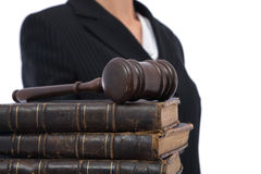 biznesowa sprawiedliwość Obrazy Stock