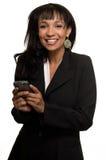 biznesowa szczęśliwa kobieta obrazy royalty free