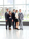 biznesowa szczęśliwa uśmiechnięta drużyna Obraz Stock