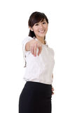 biznesowa szczęśliwa kobieta Fotografia Stock