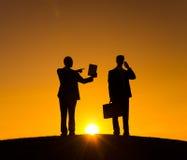 Biznesowa technologii technologii profesjonalisty teczka Obraz Stock