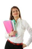 biznesowa uśmiechnięta kobieta Zdjęcie Royalty Free