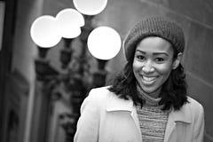 biznesowa uśmiechnięta kobieta obraz royalty free