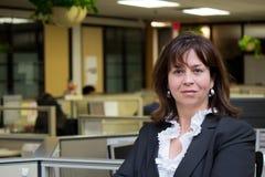 biznesowa ufna biurowa kobieta Zdjęcia Stock