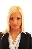 biznesowa ufna kobieta Fotografia Stock