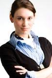 biznesowa ufna nastoletnia kobieta Obraz Stock