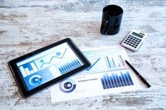 Biznesowe analityka zdjęcia stock