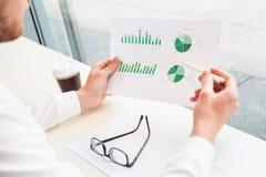 Biznesowe analityka, strategia marketingowa i badanie, obraz stock