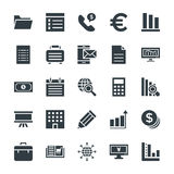 Biznesowe Chłodno Wektorowe ikony 3 royalty ilustracja