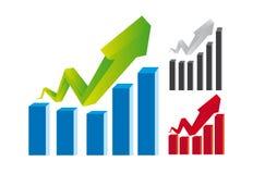 biznesowe grafika Fotografia Stock