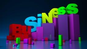 biznesowe grafika Obraz Stock