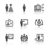 Biznesowe i biurowe ikony Obrazy Royalty Free