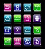 biznesowe ikony Obraz Royalty Free