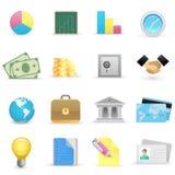 biznesowe ikony Zdjęcie Stock