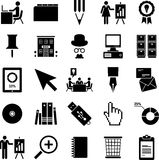 Biznesowe ikony Fotografia Stock