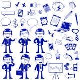 Biznesowe ikony Zdjęcie Royalty Free