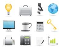 Biznesowe Ikony Ustawiają 2 ilustracja wektor