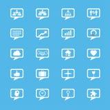Biznesowe innowacj pojęć ikony ustawiać Obraz Stock