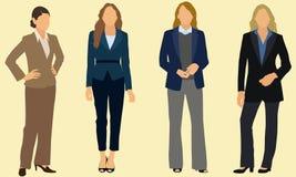 Biznesowe kobiety Zdjęcia Royalty Free