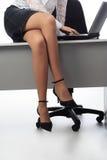 biznesowe nogi zdjęcie stock