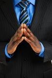 biznesowe ręki obsługują wpólnie Obrazy Stock
