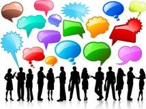 biznesowe rozmowy Fotografia Stock