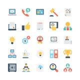 Biznesowe Wektorowe ikony 4 ilustracja wektor