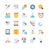 Biznesowe Wektorowe ikony 2 royalty ilustracja