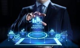 Biznesowego analityki inteligencji analizy BI dane technologii du?y poj?cie ilustracja wektor