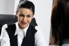 biznesowego biura kobiet target22_1_ fotografia stock