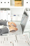 biznesowego biura kobieta Zdjęcie Royalty Free