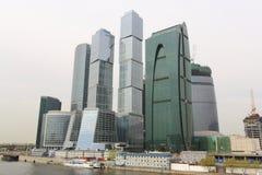 biznesowego centre miasta zawody międzynarodowe Moscow Zdjęcia Royalty Free