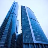 biznesowego centre nowi drapacz chmur Zdjęcia Stock