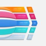 Biznesowego infographic templateBusiness infographic szablon Zdjęcia Stock